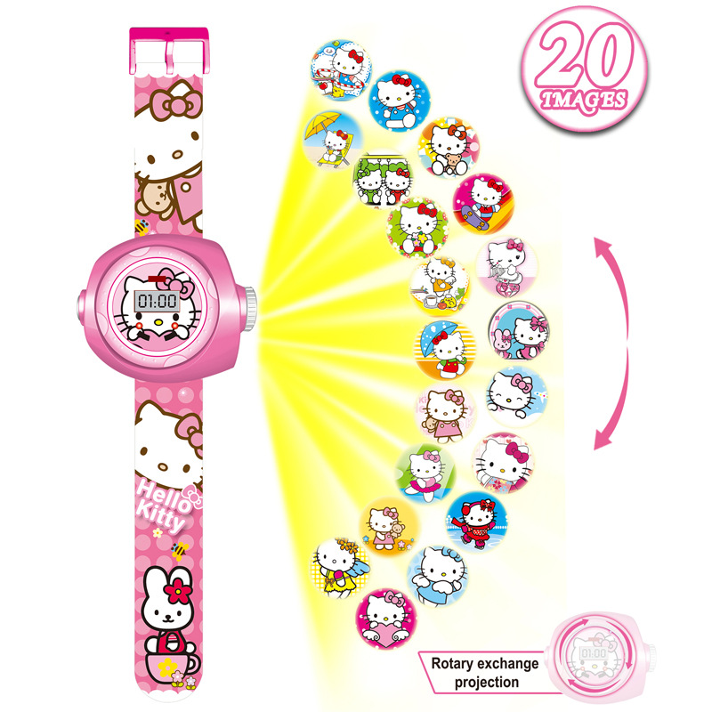 2019 Kids Digital Watch Boys Cartoon Watches Children Luminous Projector Baby Toy Watch Gifts For Girls Boys Reloj