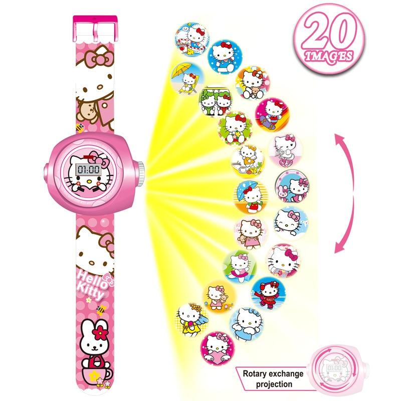 2019 Kids Digital Watch Boys Cartoon Watches Children Luminous Projector Baby Toy Watch Gifts For Girls Boys Reloj
