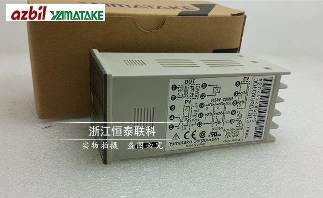 SDC10 series original brand new authentic Japanese Yamatake / Yamatake C10T0DRA0100 Thermostat new japanese original authentic srh4010 03