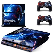 Star Wars Battlefront 2 PS4 Skin Sticker Decal Vinyl for Sony Playstation 4 Console and 2 Controllers PS4 Skin Sticker playstation 4 1tb игра star wars battlefront