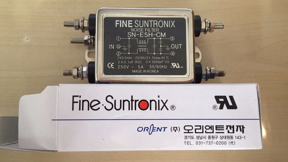 SN-E5H-CM  Mains FilterSN-E5H-CM  Mains Filter
