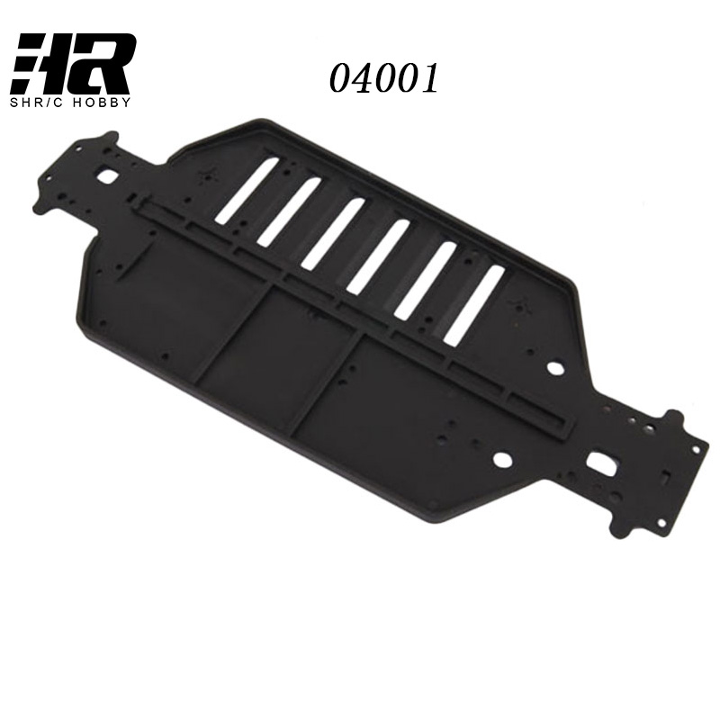 RC car 1/10 HSP 04001 Plastic Chassis For RC 1/10 Off-Road HSP Original Parts,For a variety of models hsp rc car upgrade parts accessories 04001 metallic chassis hsp 1 10 scale models 94122 on road car part hi speed rc ep cars