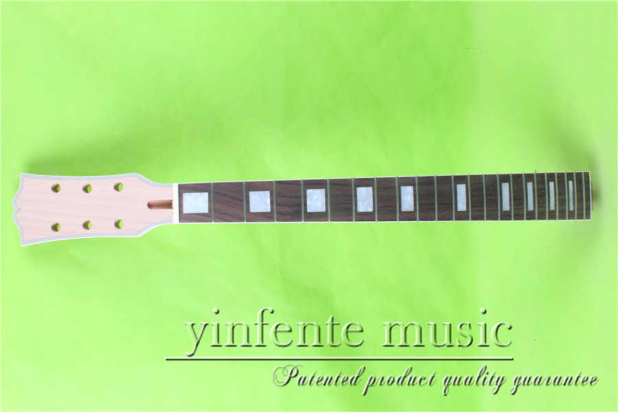 Electric Guitar Neck Solid wood Unfinished 22 fret Fretboard Wholesale #2 new electric guitar neck rosewood fretboard truss rod 22 fret 25 5 unfinished free shipping