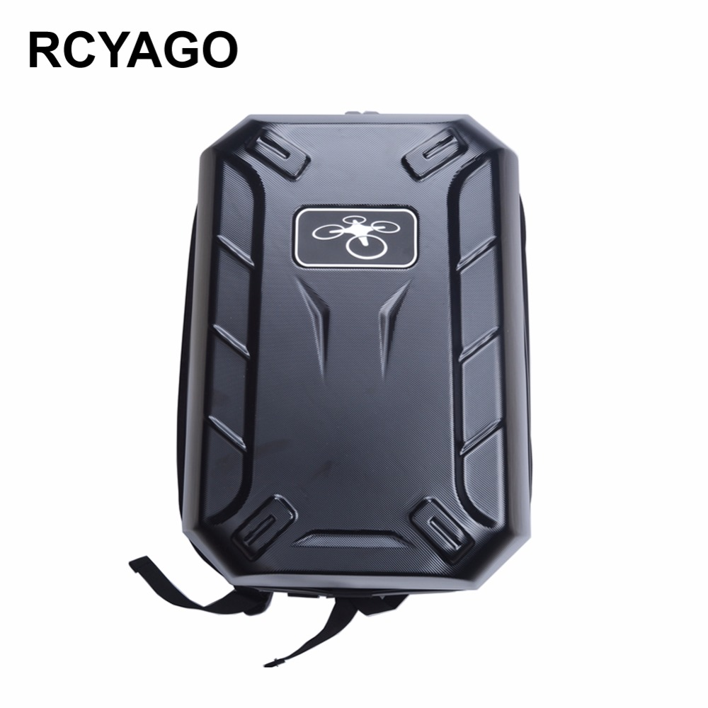 RCYAGO DJI Phantom 3 Hard Shell Box Drone Backpack Phantom 3S Pro Bag Hardshell PC Bag