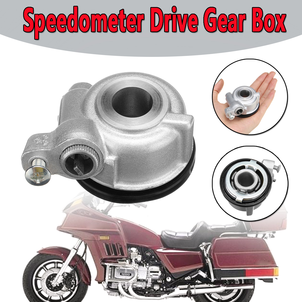 motorcycle speedometer drive gear box new fits for honda goldwing gl1200 1984 1987 scooter parts mg9 013 in covers ornamental mouldings from automobiles  [ 1200 x 1200 Pixel ]
