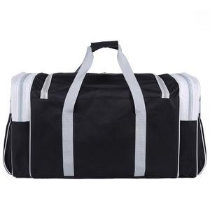 Image 5 - 防水男性に運ぶ巨大な荷物バッグメンズダットラベルトート大週末バッグクロスボディハンドバッグ
