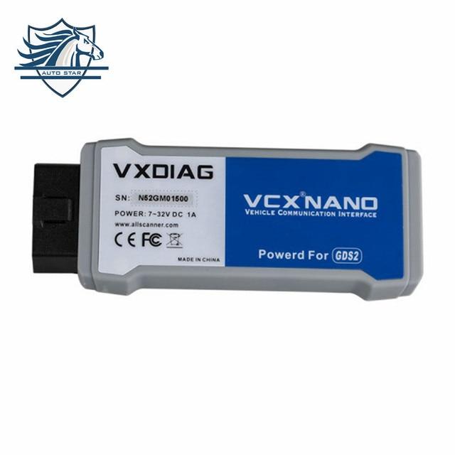 Высокое Качество VXDIAG VCX NANO Несколько GDS2 и TIS2WEB Диагностический/Программная Система для GM/Opel лучше, чем MDI быстрая Доставка