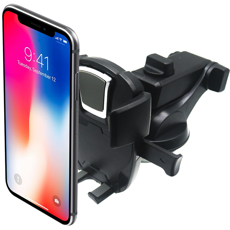 JEREFISH pare-brise ventouse Voiture Support pour téléphone pour iPhone X Support pour téléphone dans la Voiture Support Mobile Smartphone Voiture Stand