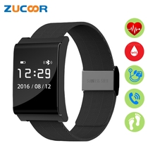 Good Wrist Band Watch Bracelet Blood Strain Oxygen Coronary heart Fee Monitor Wristband ZB97 Smartband Fitnss Tracker For iOS Android