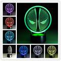 Star Wars Lamp 3D Visual Led Night Lights for Kids Robot Touch USB Table Lampara as Besides Lampe Baby Sleeping Nightlight
