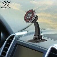XMXCZKJ Universal Magnetic Phone Holder Car Mount Stand Stick 360 Degree Retation Car Dashboard Bracket For