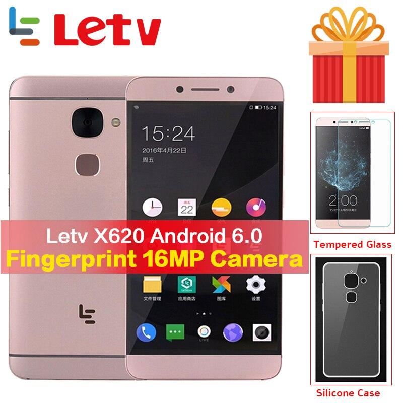 Gobal Version Letv Le2 X620 3g RAM 32g ROM 4g mobile téléphone Android 6.0 Deca Core 2.3 ghz 5.5 ''16MP Caméra D'empreintes Digitales téléphone