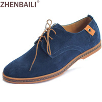 Juniors Fashion Mens Genuine Leather Oxford Lace Up Round Toe Casual Shoes Sneakers For Men Hot