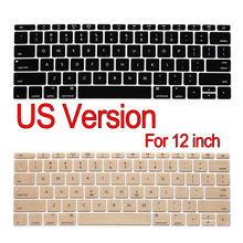 """Американская версия клавиатура протектор кожного покрова F Macbook 1"""" 12 дюймов a1534 с Retina Дисплей"""