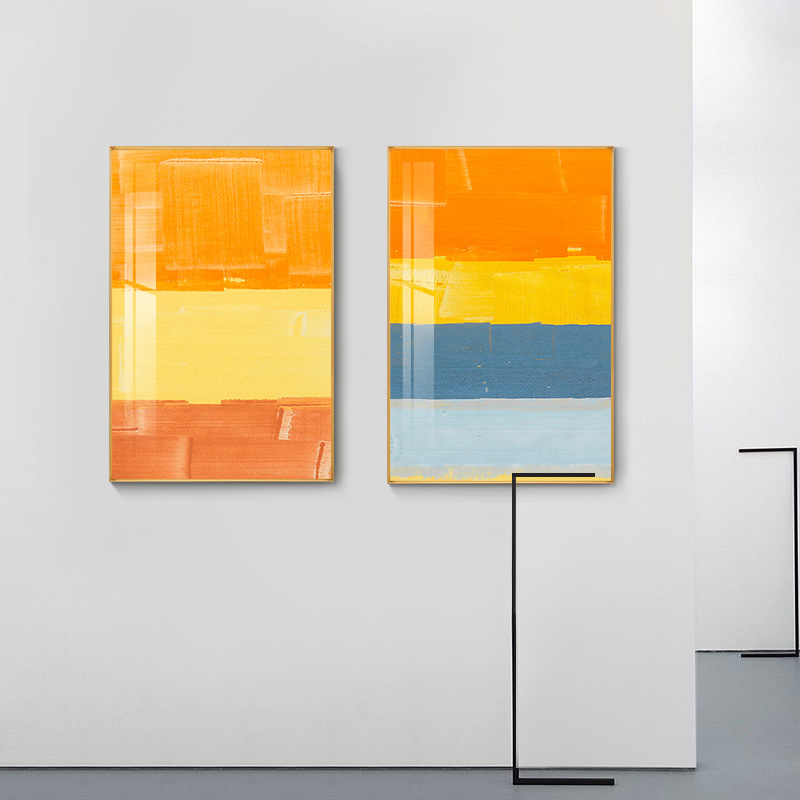 Abstract Mark Rothko colorful Canvas Painting Posters And ...