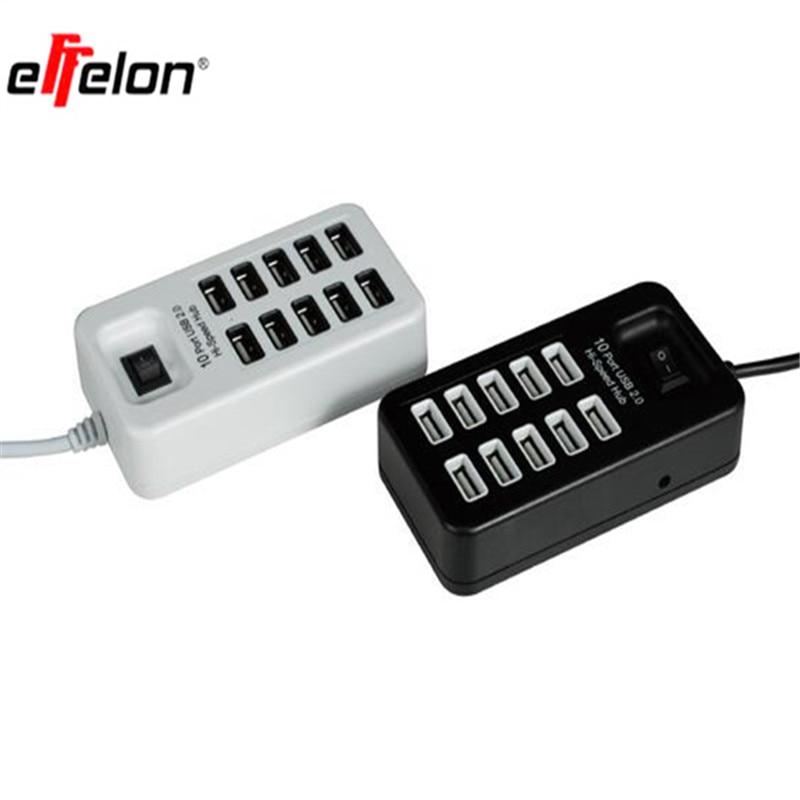 Effelon Multi 10 Ports USB 2.0 USB Charger On/Off Switch