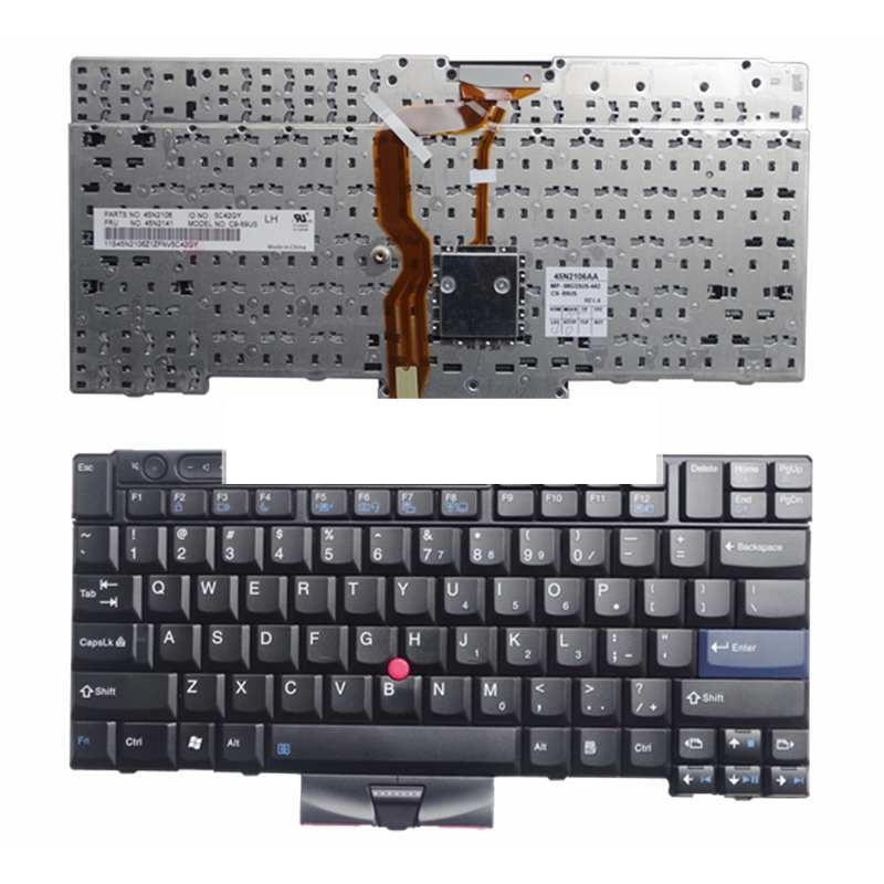 NUOVA tastiera del computer portatile PER LENOVO Thinkpad T410 T420 X220 T510 T510i T520 T520i W510 W520 Series Laptop Keyboard US Layout