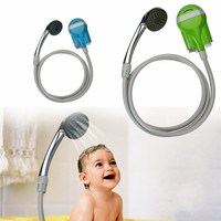 Outdoor Shower Water Pump Auto Shower Pump Pressure Family Showers Travel Outdoor Kit Camping Shower Set
