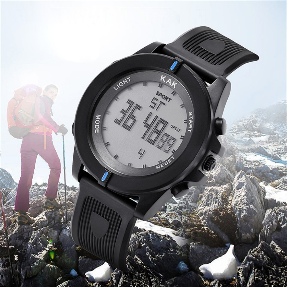 Digital Watches Men Sport Reloj Hombre 30M Waterproof Men LED Digital Dual Military Movement Electronics Watch Homme Montre MMD5