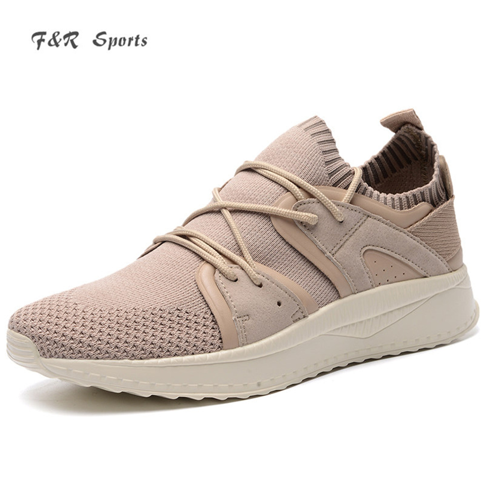 F&R 2018 New Trainer Mesh Breathable Running Shoes Lightweight Comfortable Spring Summer Yeezys Outdoor Sports Shoes 39-44