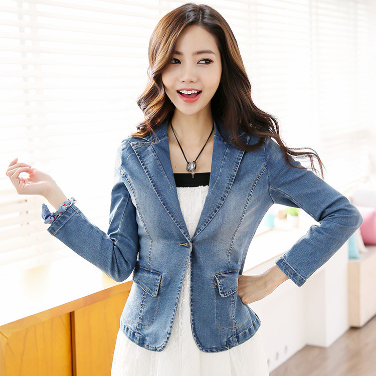 397ced930 Cheap Women Summer Short Jean Jackets 2015 New Design Girls Street ...