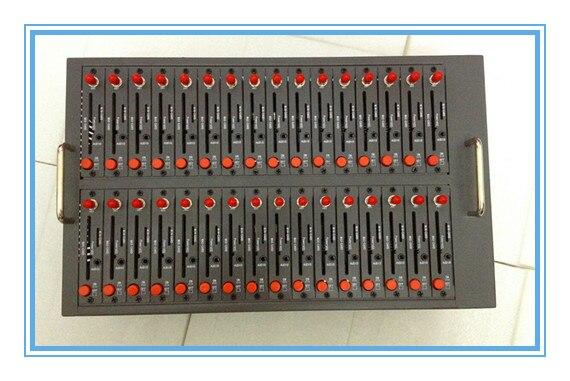 32 sim slots usb gsm modem pool based on wavecom industrial q24plus module support sms mms