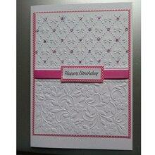 Цветочный тисненый узор с бабочками, папки, новинка, для изготовления открыток, бумажные поделки, скрапбукинг, пластиковый трафарет для тиснения