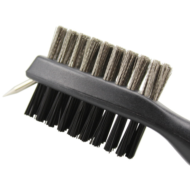 Golf Club Brush Golf Groove Cleaning Brush 2 Sided Golf Putter Wedge Ball Groove Cleaner Kit Cleaning Tool Gof Accessories 4