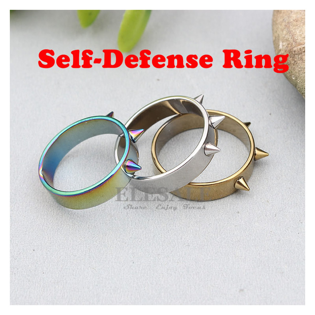 New Tactical Self-Defense Ring Men Women Self-Defense Outdoor Survival Tool  Emergency Glass Breaker Punk Decoration Rings 0d44b2e314