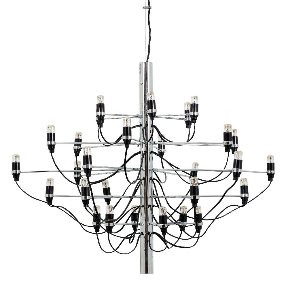 Or/Chrome Lustre Moderne maison 30/50 ampoules designer Lustre salon Salle À Manger Cuisine Luminaire 30 lumière/50 lumières
