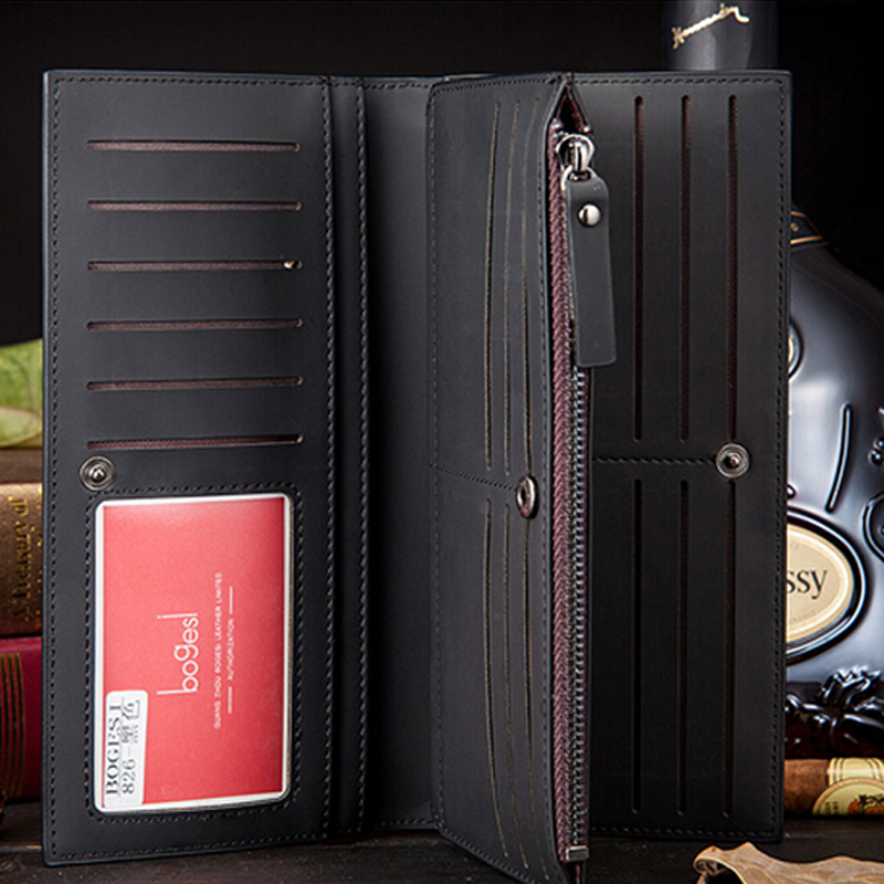 New 2017 Men Wallets Carteira  Business Famous  Brand Long Clutch  Zipper  Wallet  Money Purse Coin Bag new fashion men s wallet men zipper business clutch male money bag carteira brand long purse multifunction coin