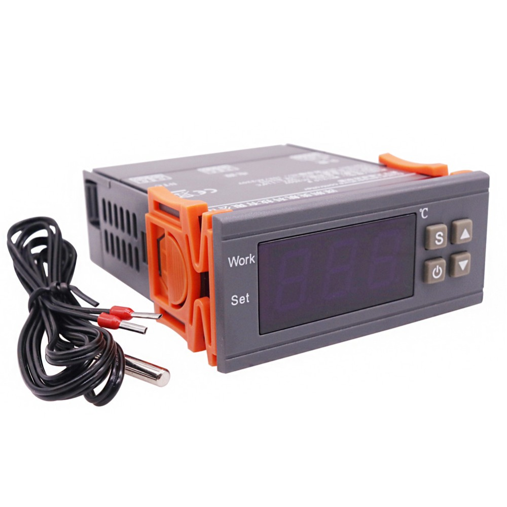 10 pcs Digital temperature controller 1 7in Display 50 To 110 degrees Celsius Industry Home interior