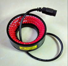 For machine vision LED ring light source 40mm diameter red adjustable brightness Industrial lighting