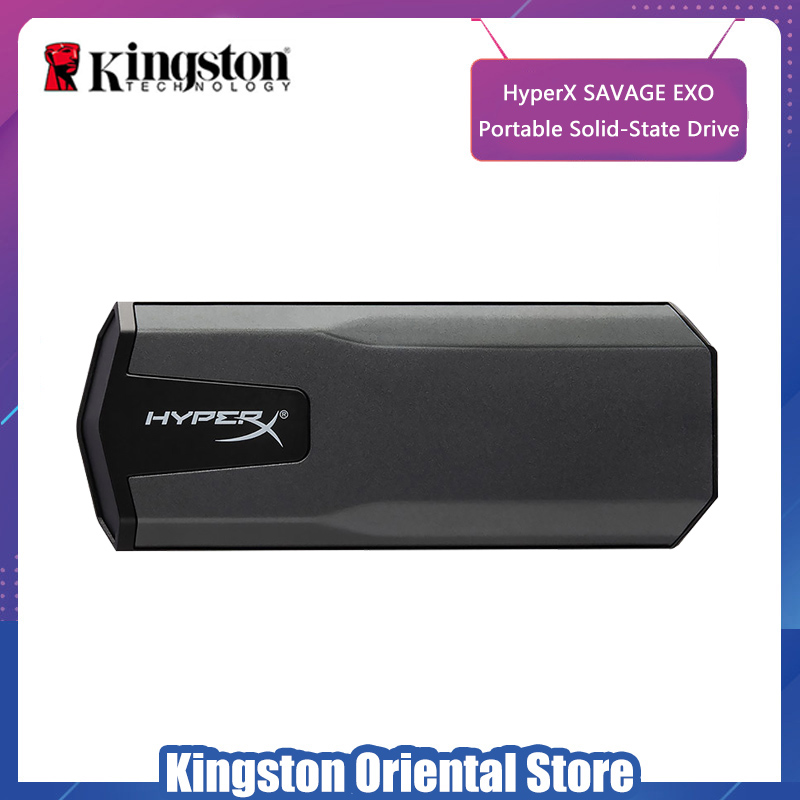 Dynamic Kingston Hyperx Portable Solid State Drive 480gb Hdd 960gb 3d Nand Usb 3.1 Gen 2 External Ssd For Pc Mac Ps4 One Be Friendly In Use