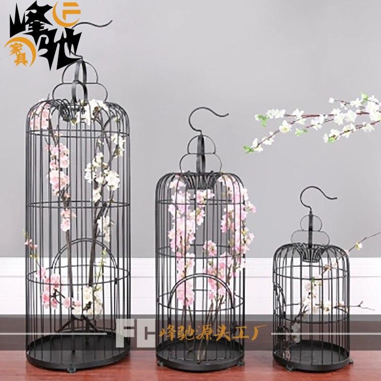 Metal Bird Cage Wedding Decoration Nordic Decor Craft ...