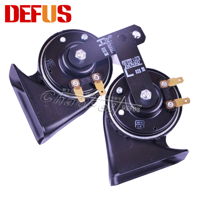 Special For Horn 12v Weep Hole Sound Crisp Elegance Car Claxon Snail Car Horn ISO9001 3C Loud More Than 129db Car Styling