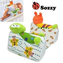 2pcs/set Sozzy Baby Pillow Anti Roll Pillow Adjust Position Shaping Side Sleeping Pillow frog Lion Giraffe
