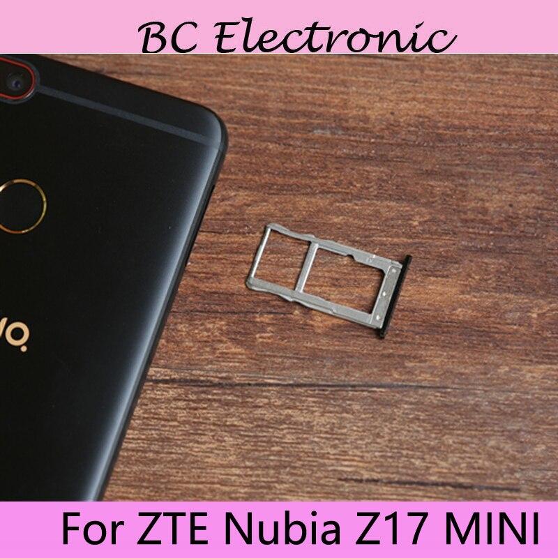 Für ZTE Nubia Z17 mini 5,2 zoll Neue Original Sim Karte Halter Behälter Card Slot Für ZTE Nubia Z 17 mini Sim Karte Halter