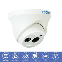 Escam QD100 CCTV Surveillance Security Camera 1MP HD-720P Night Vision Onvif P2P Indoor Outdoor Camera Network Video IP Camera