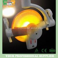 Round operating light Halongen dental lamp dental chair lamps Oral Light Induction lamp Dental Unit operation light
