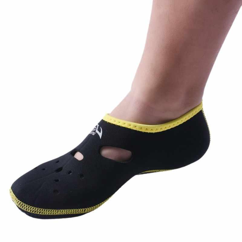Su sporları Kısa Scuba Dalış Çizmeler Wetsuit Neopren Dalış Ayakkabı Yüzgeçleri palet kaymaz Antiskid