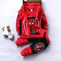 Осенний комплект одежды для мальчиков, хлопковый спортивный костюм, Детский Классный костюм для косплея, 3 предмета, детский спортивный кос...