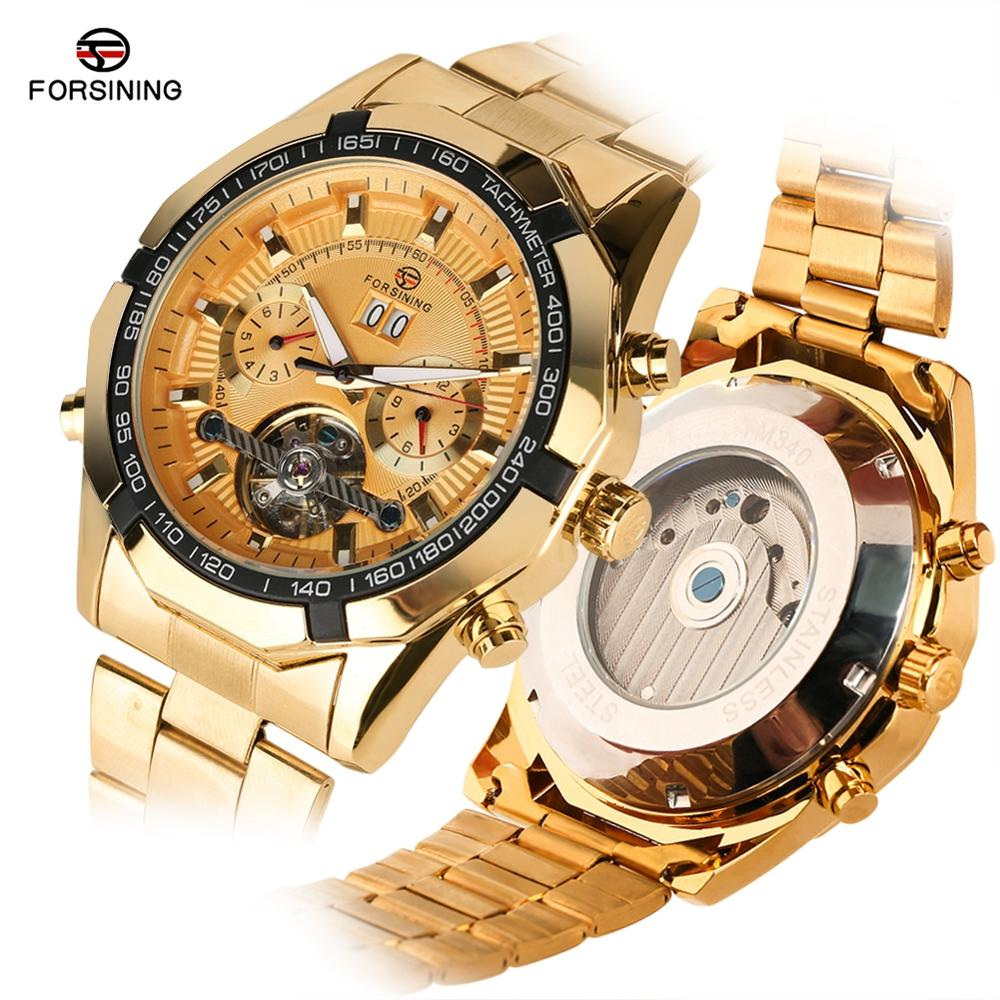 Luxury Automatic Mechanical Watch for Men Business Style Stain Steel Watches for Teenagers Luminous Pointer Watch for Men