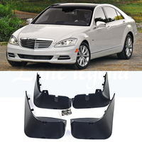Mud Flaps For Mercedes Benz S Class S Class 2012 2011 2010 2009 2008 W221 V221 2007 2013 Splash Guards Mudguards S300 S350 450