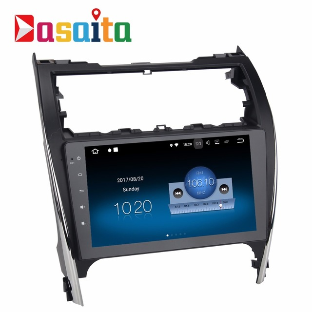 """Dasaita 10.2"""" Android 8.1 Car GPS Player Navi for Toyota Camry 2012-2014 USA&Mid-East Version with 2G+16G Quad Core Stereo Radio"""