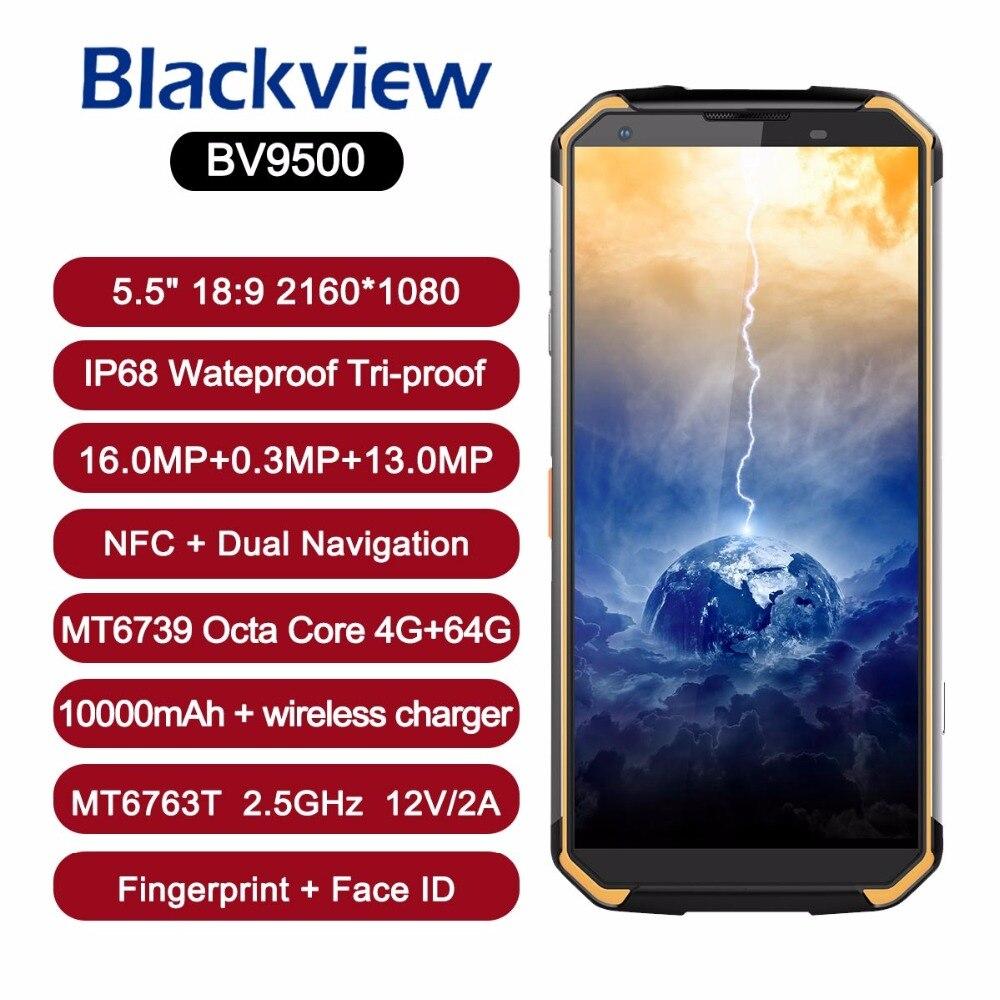 Blackview BV9500 10000mAh IP68 Waterproof 16MP Camera NFC