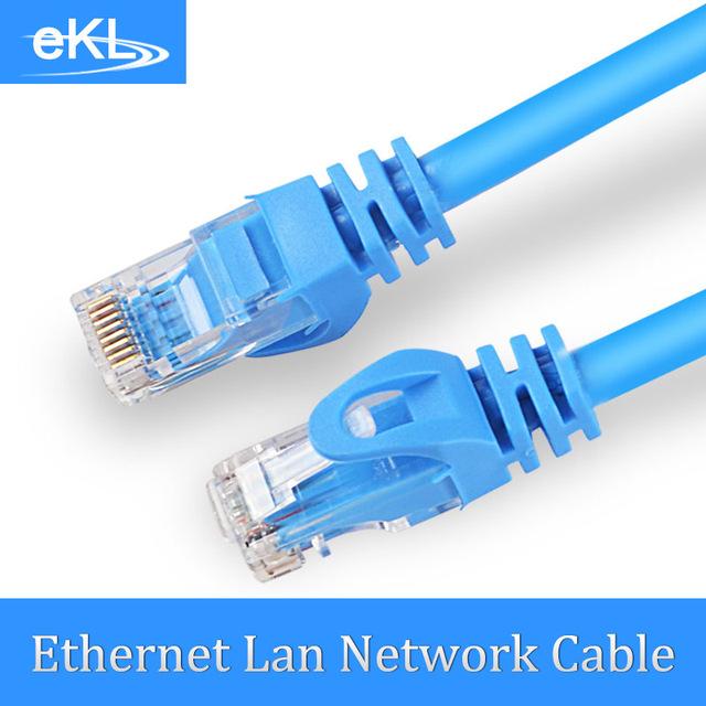 EKL Alta Velocidad RJ45 Cat 6 Ethernet Cable de Red Lan para PC Portátil