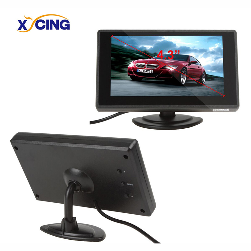 XYCING 4.3 Inch Color TFT LCD Car Rear View Monitor Car Backup Parking Monitor for Rear View Camera DVD VCD(China)