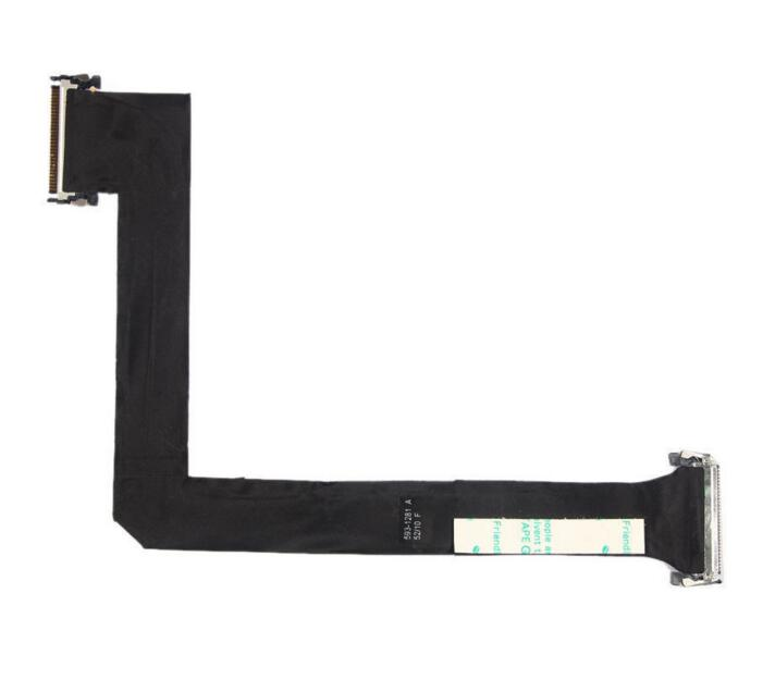 LCD LVDS Display VGA Cable 593-1281 593-1028 for iMac 27 2009 2010 Year A1312 LCD LED LVDs Screen Display flex Cable new original lvds lcd display screen flex cable for apple imac 27 923 0308 md095 md096 a1419 12 13year hk post free shipping