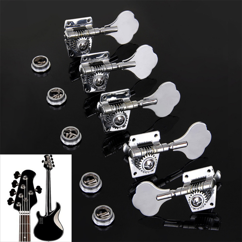 Vintage Jazz Precision Bass Tuning Pegs Open Geared Bass Tuners Machine Head Bass Replacement Bass Accessories